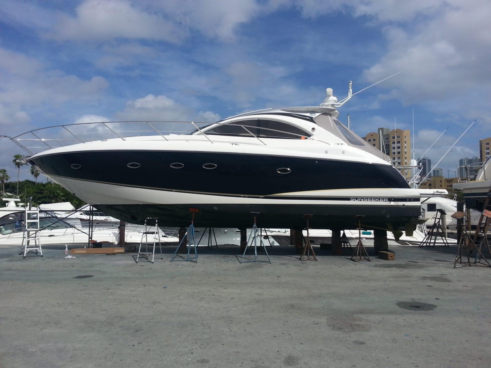Sunseeker Boat Wrap