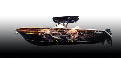 Finshing Boat Wrap